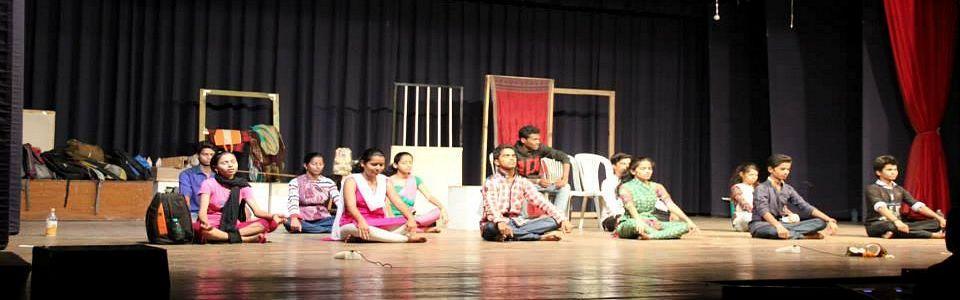 Drama Team Performing